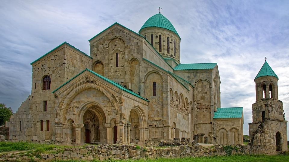 Georgia, Kutaisi, Bagrati Cathedral, Cathedral, Church