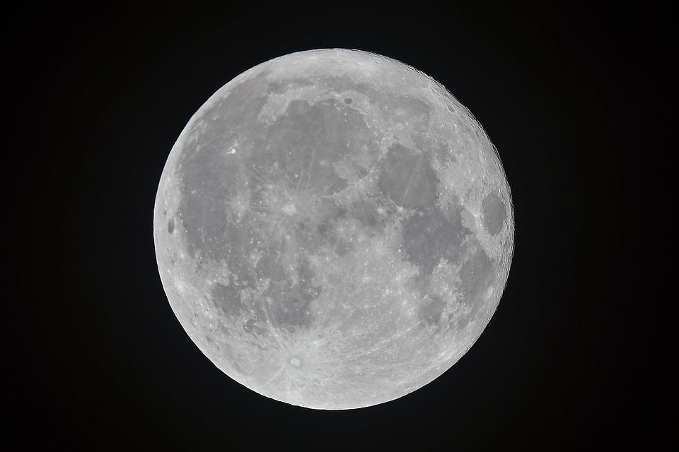 Thanksgiving, For, Moon, Full Moon, Fullmoon