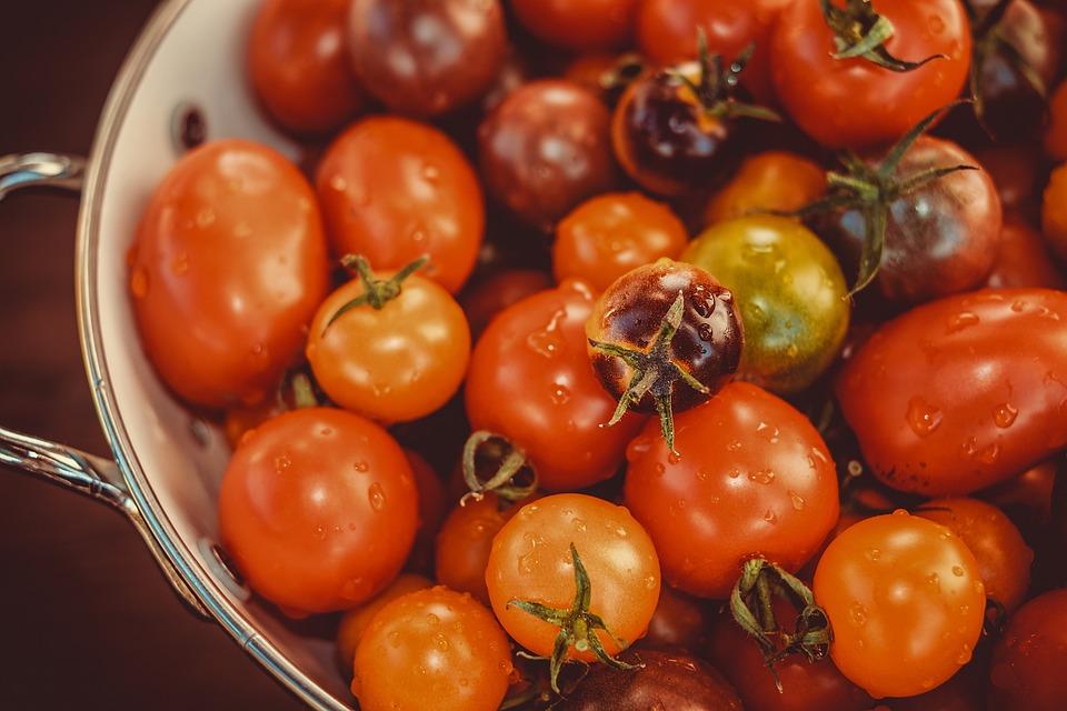 Pomodori, Colorato, Bio, Vitamine, Nutrizione, Cucina