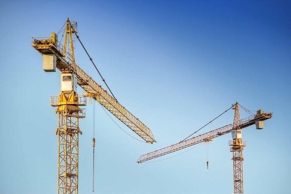 Cranes, Construction, Load Crane, Metal, Load Lifter