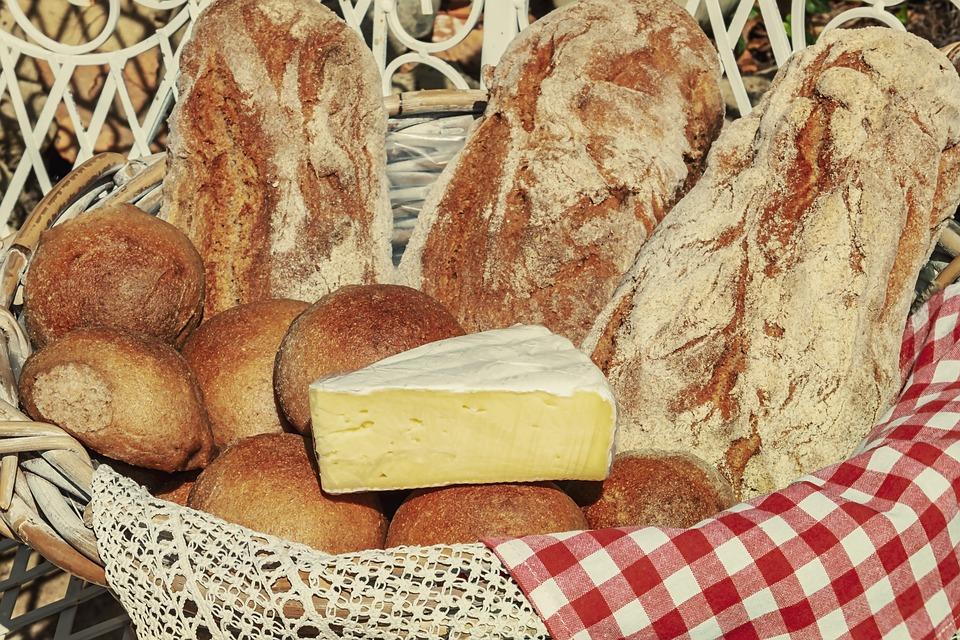 Granaio, Formaggi A Pasta Molle, Cremoso, Pane, Rotolo