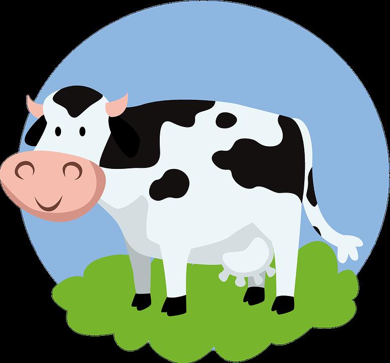 Sapi Hewan Kartun Anak Gambar Gratis Di Pixabay