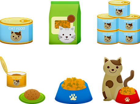Cat Food, Cat, Canned Cat Food