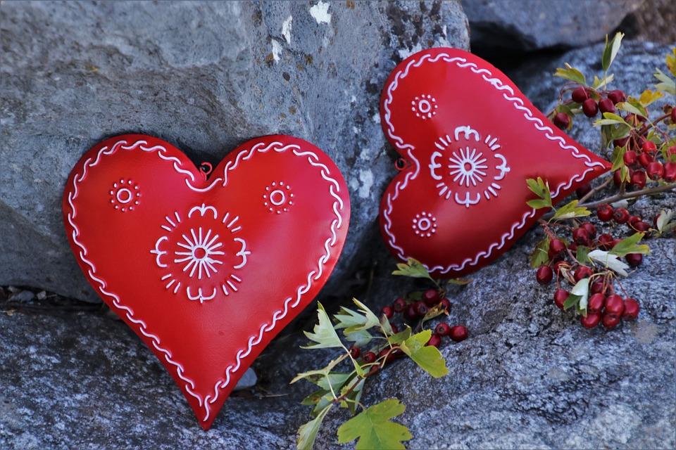 Punainen, Sydän, Tunne, Romantiikkaa, Syksy, Sinulle