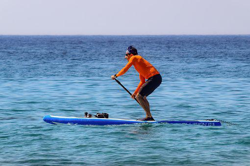Paddleboarding, Sport, Paddle, Board