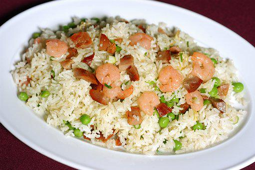 Fried Rice, Chinese, Asian, Food