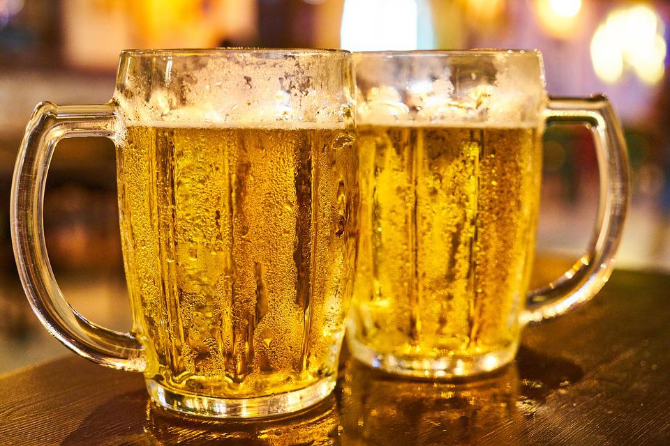 Пиво, Веселье, Алкоголь, Напиток, Бар, Сосна, Холодная