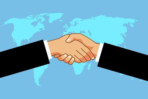 Handshake, Worldwide, Businessmen, Deal