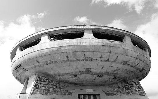 Bulgaria, Buzludzha, Communist, Monument