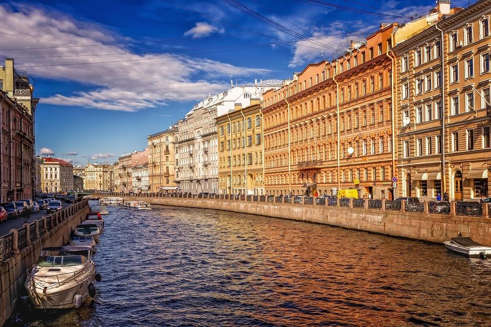 Санкт Петербург, Исторический Центр, Канал