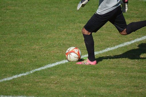 Goal, Foot, Football, Sport, Jouer