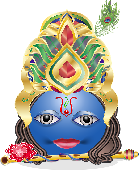 Krishna Emoticon Smiley - Free vector graphic on Pixabay