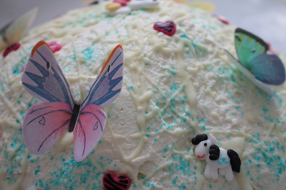 Cake Birthday Butterfly Bake