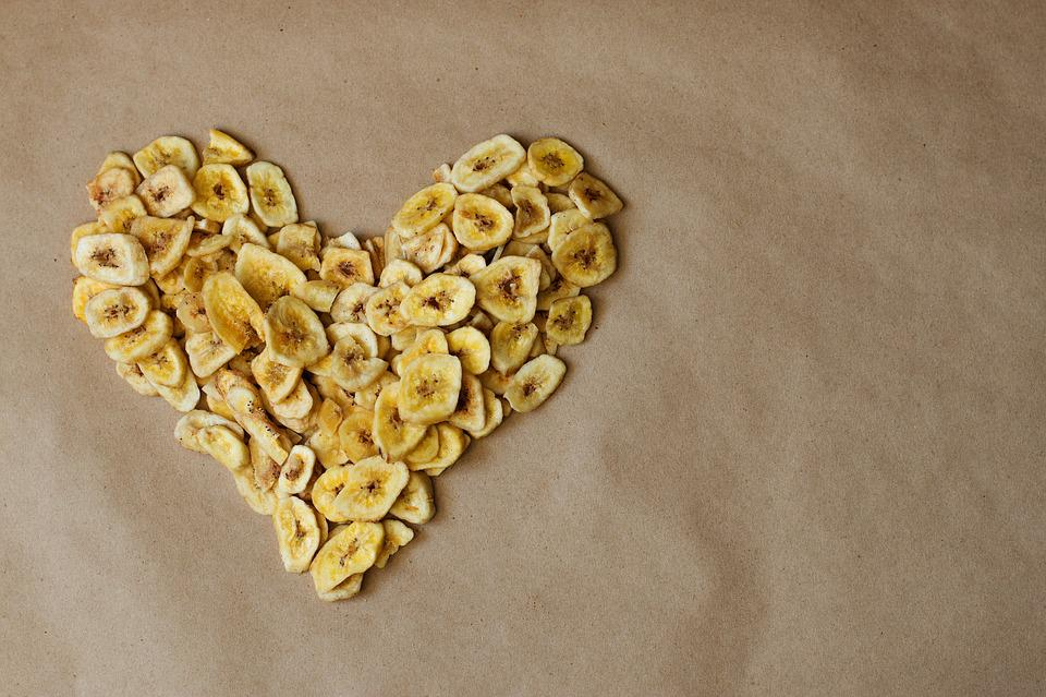 Banane séchée calorie