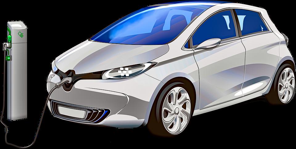 Elektrische Auto, Auto, Plug, Elektriciteit, Symbool