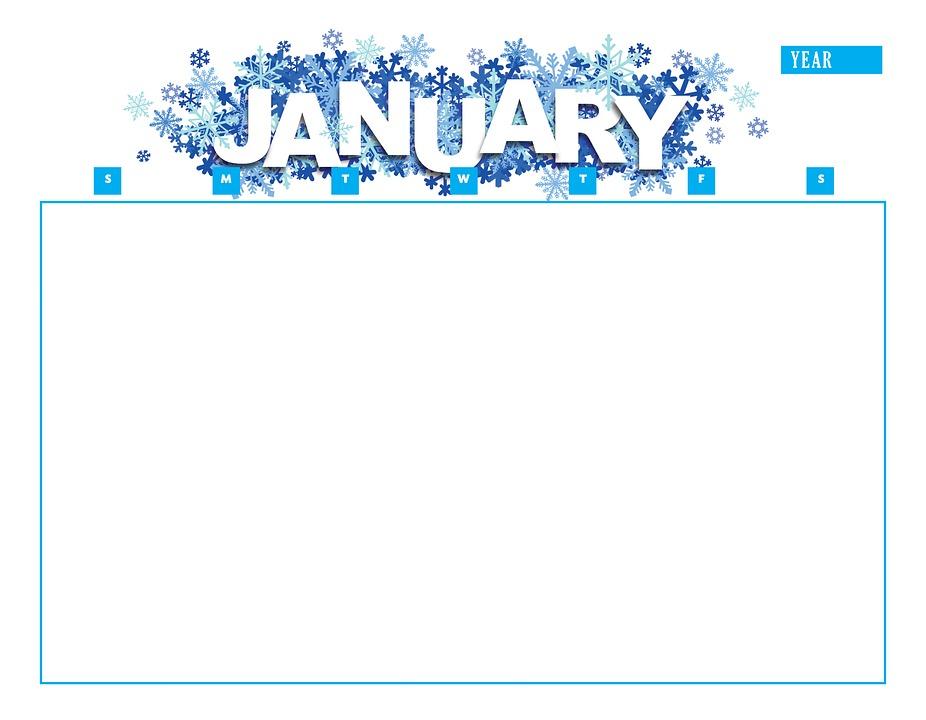 Calendario Gennaio.Calendario Gennaio Anno Immagini Gratis Su Pixabay