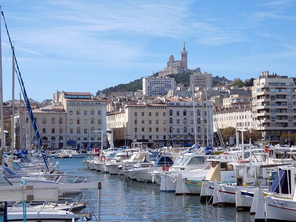 Marseille, Vieux-Port, Notre-Dame, La Garde, Bonne-Mère