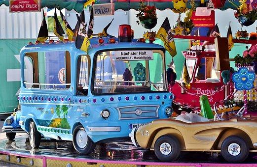 Carousel, Auto, Children Car