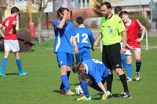 Football, The Referee, Foul, Direct Kick