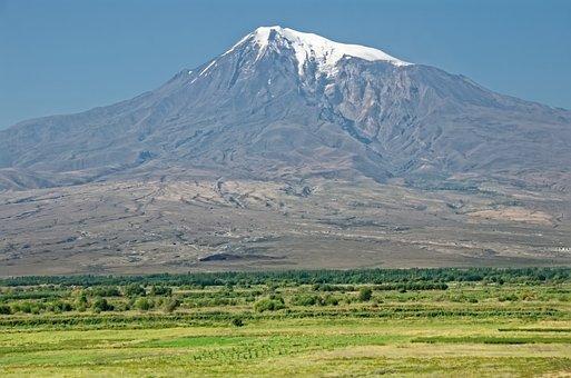 Armenia, Ararat, Landscape, Mountain