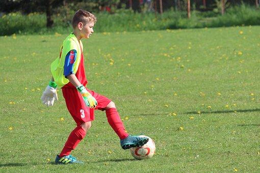 Goalkeeper, Rozohrávka, Prep, Football