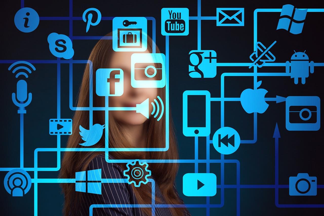 Mujer Icono Redes - Foto gratis en Pixabay
