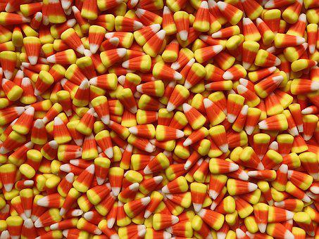 Candy Corn, Candy, Halloween, Treat