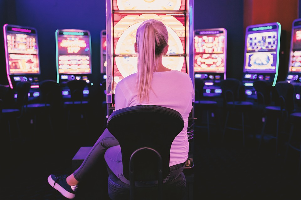 Casino, Adult, Woman, Young, Bet, Betting, Gambling