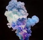 abstrakcja, streszczenie, akryl