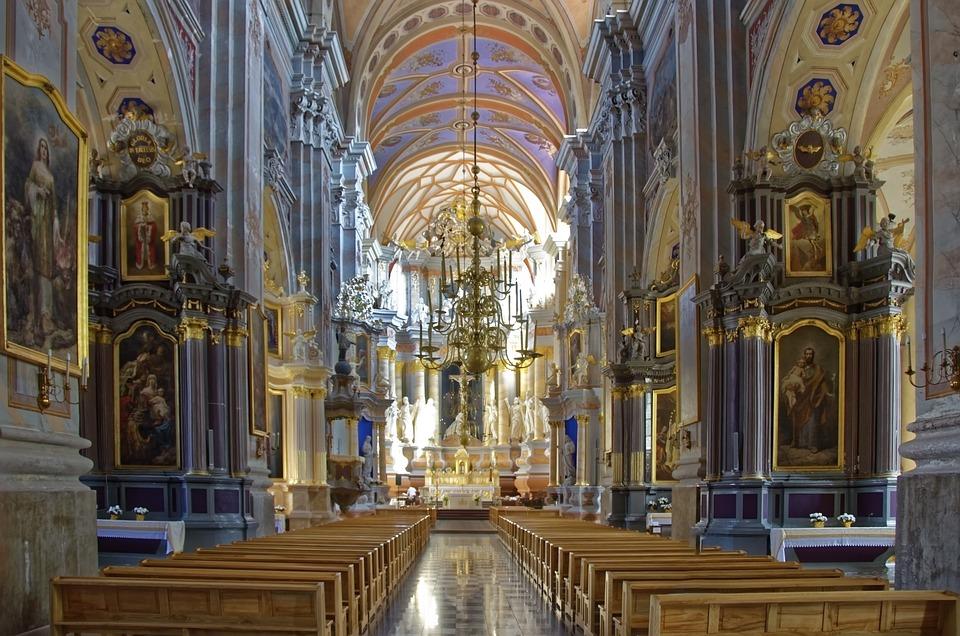 Kirche, Innenansicht