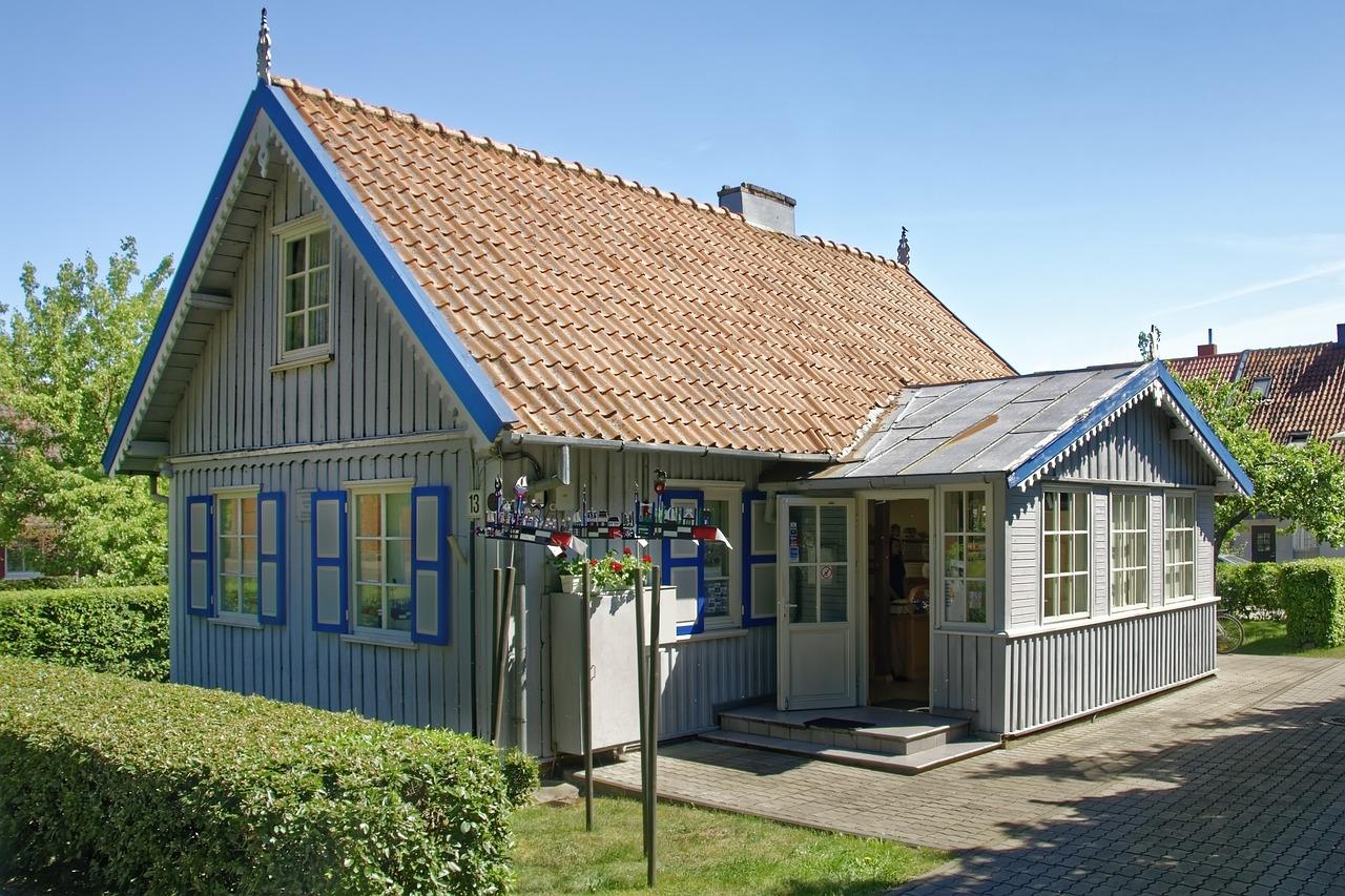 Деревенские дома в прибалтике фото