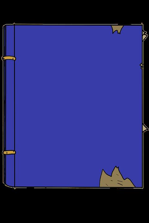 Dessin Anime Livre Bleu Image Gratuite Sur Pixabay