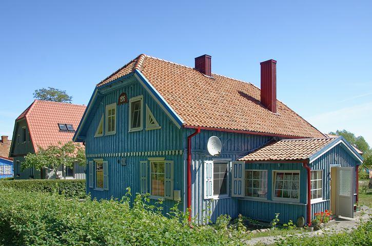 деревенские дома в прибалтике фото лучшие