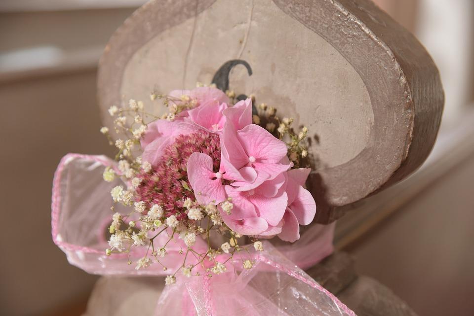 Blumen Deko Rosa Kostenloses Foto Auf Pixabay