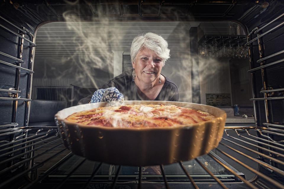 Torta Di Mele, Donna, Cucina, Cottura, Cibo, Delizioso