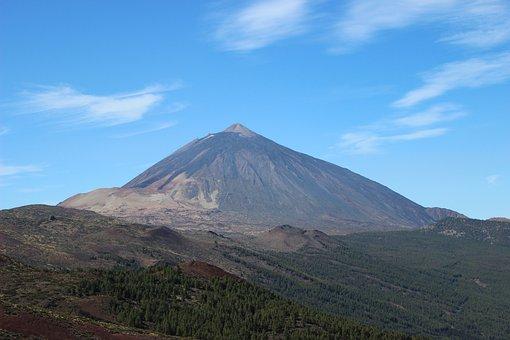 Teide, Tenerife, Volcano, Landscape