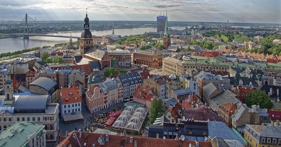Riga, Vogelperspektive