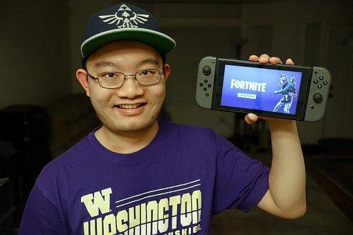 Gamer, Fortnite, Nintendo, Switch