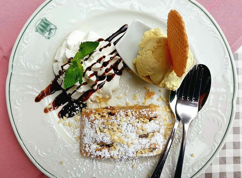 Dessert Kuchen Nachtisch Kostenloses Foto Auf Pixabay