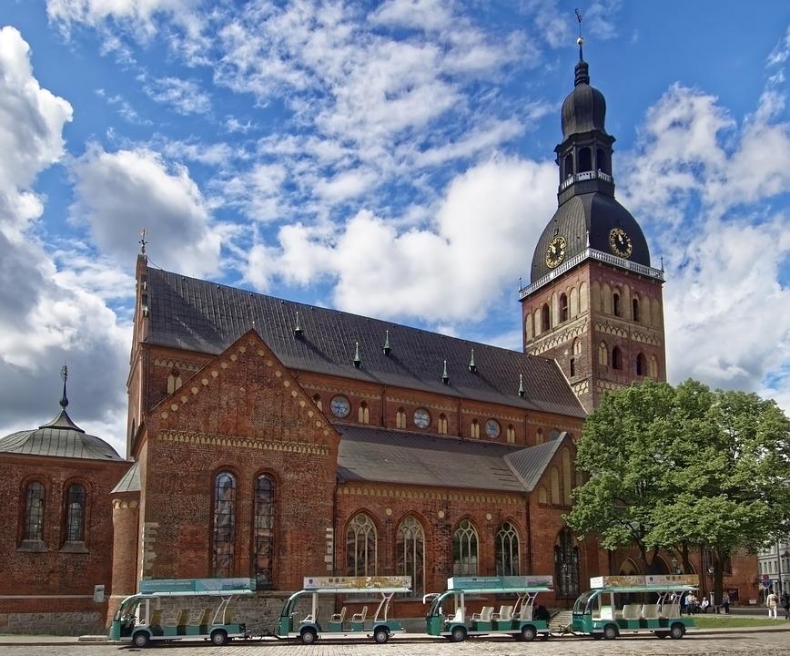 Łotwa, Riga, Katedra W Rydze, Kościół