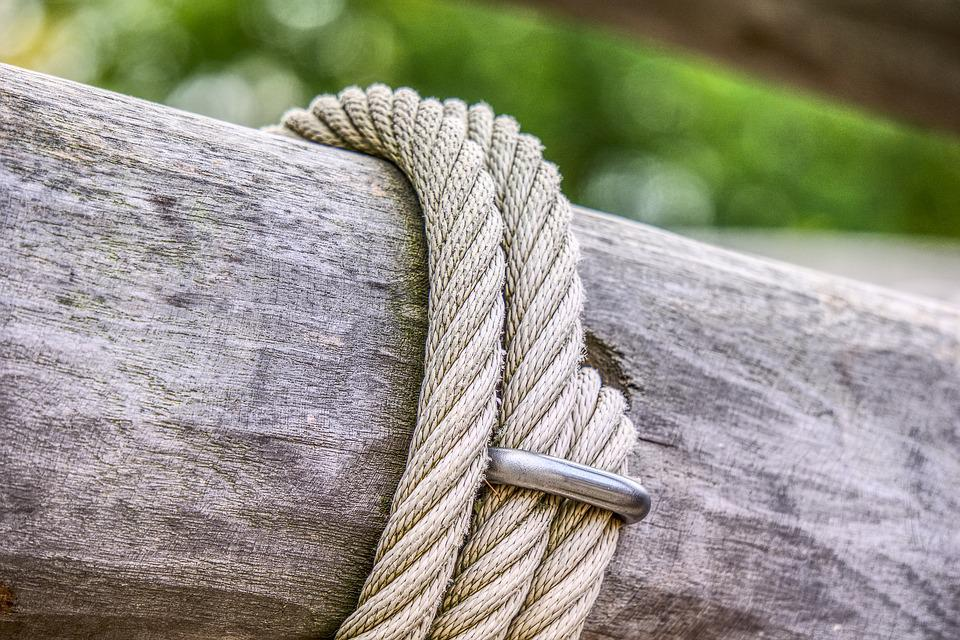 Klettergerüst Mit Seilen : Seil holz balken kostenloses foto auf pixabay