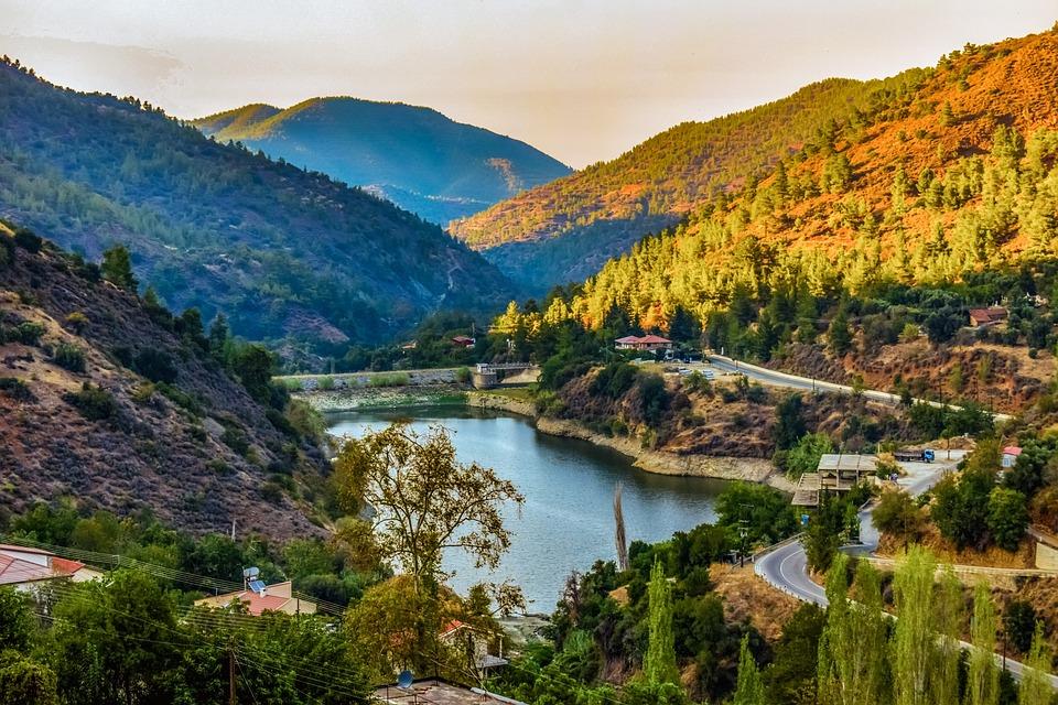 Dam, Lake, Mountains, Landscape, Reservoir, Nature