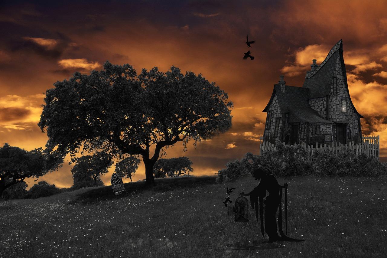 童话故事黑暗完整版 白雪公主暗黑版本童话