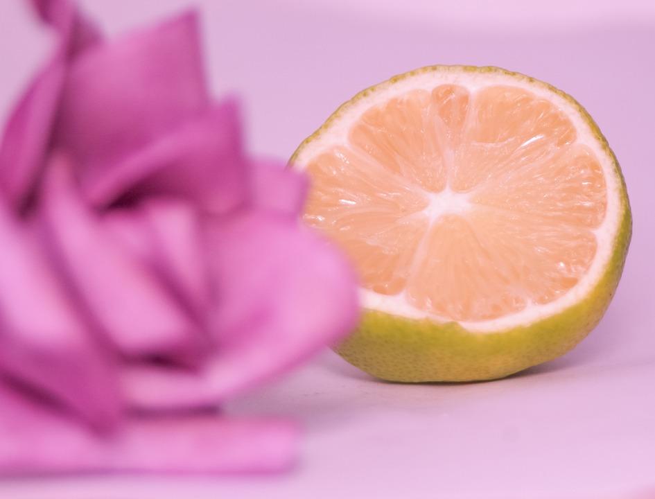 Rose, Citroen, Roze, Lens, Citron, Couleur De Rose