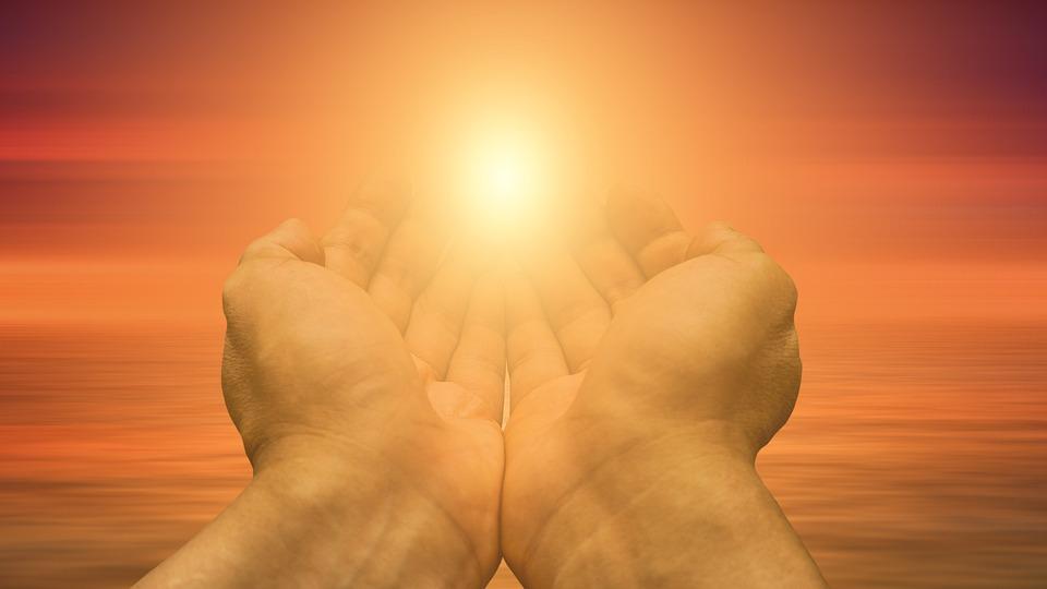 Religie, Geloof, Cross, Licht, De Hand, Vertrouwen, God