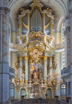 Frauenkirche, Dresden, Altar
