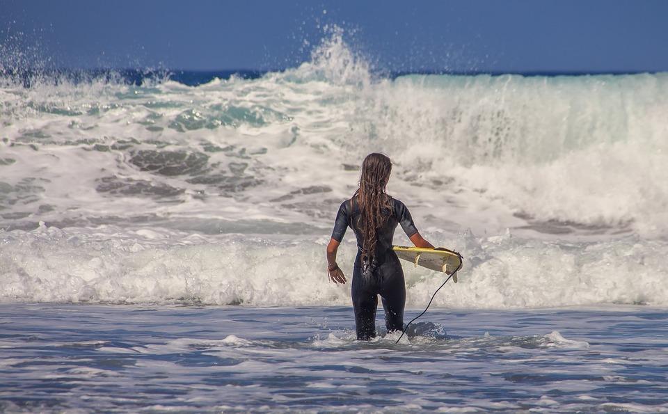 Surfista, Surf, Mare, Sport Acquatici, Acqua, Testa