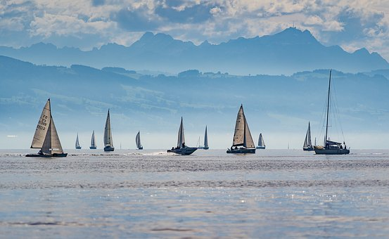 Sail, Sailing Boats, Wind, Water