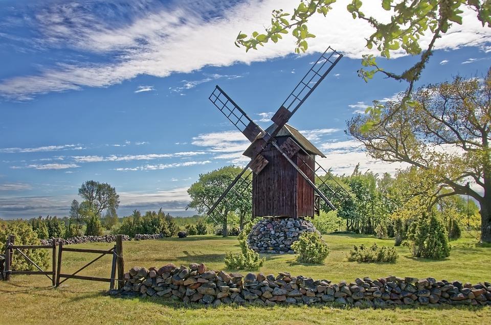 Windmühlen, Estland