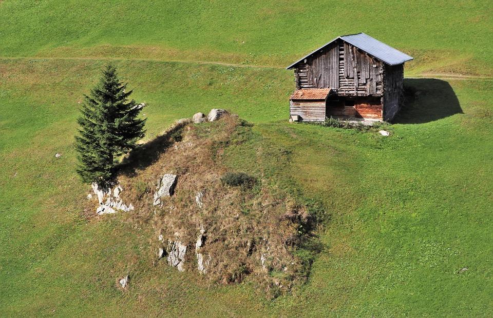 Casa De Madera Montanas Meadow Foto Gratis En Pixabay